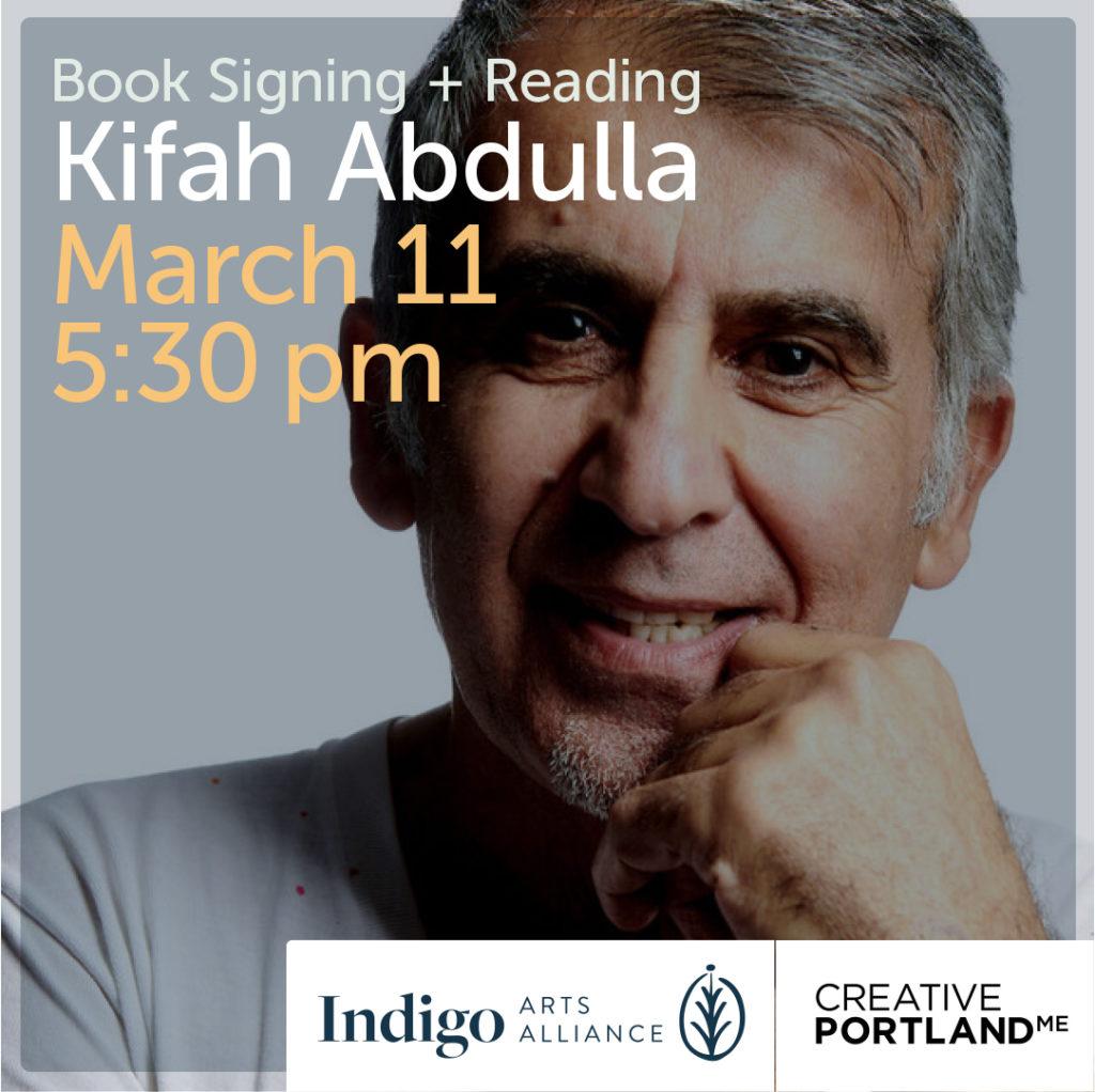 Kifah Abdulla Book Signing and Reading