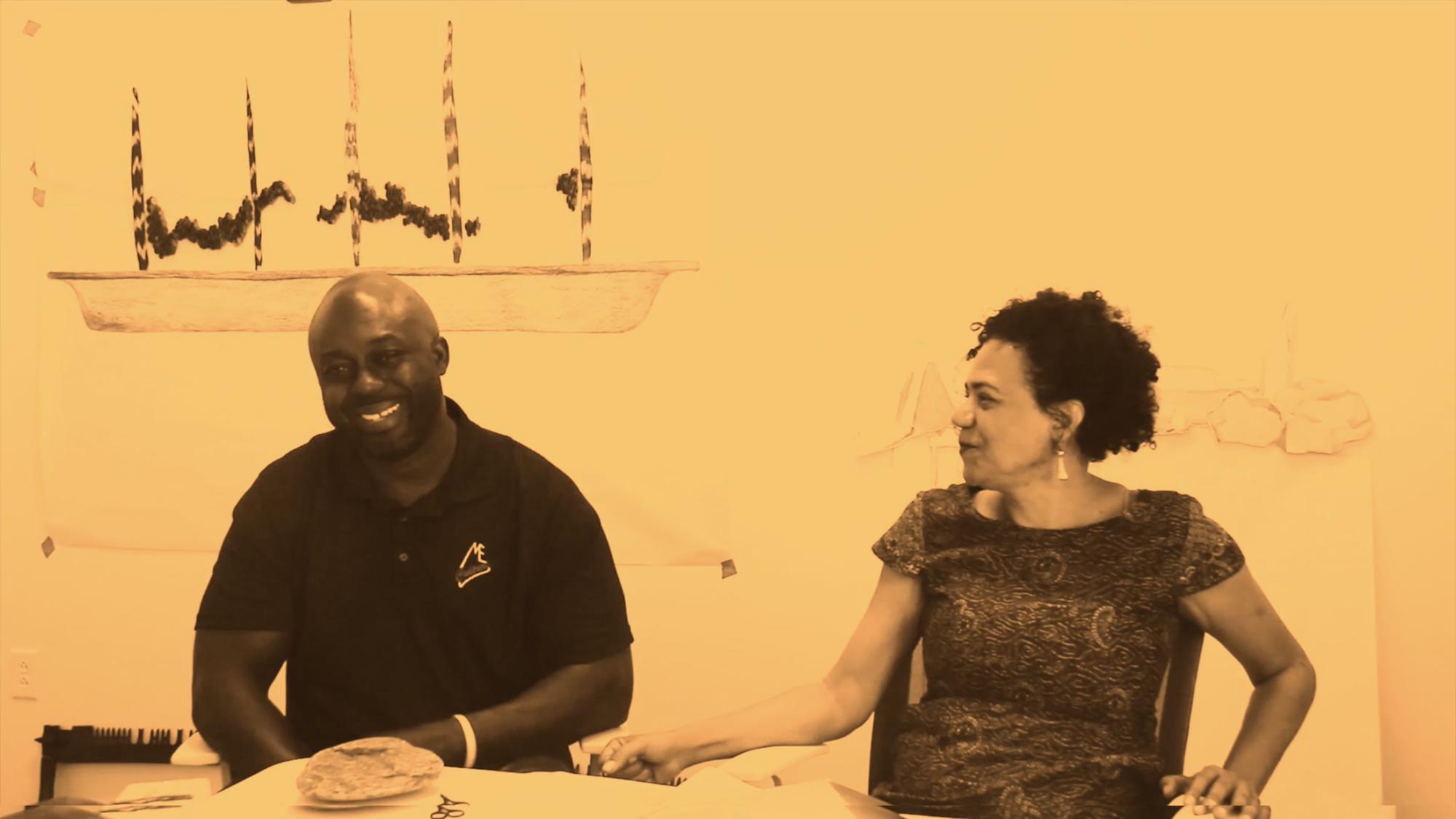 Eneida Sanches + Ebenezer Akakpo