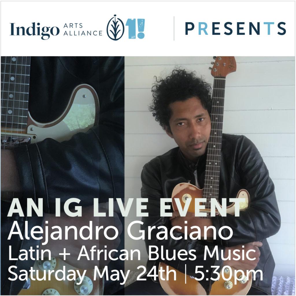 Indigo Presents An IG Live with Alejandro Graciano