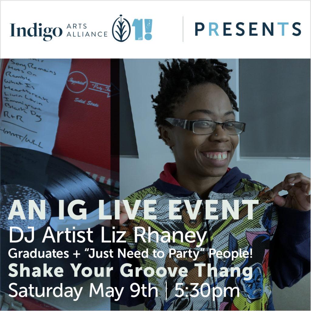 DJ Artist Liz Rhaney Let's Go Graduates