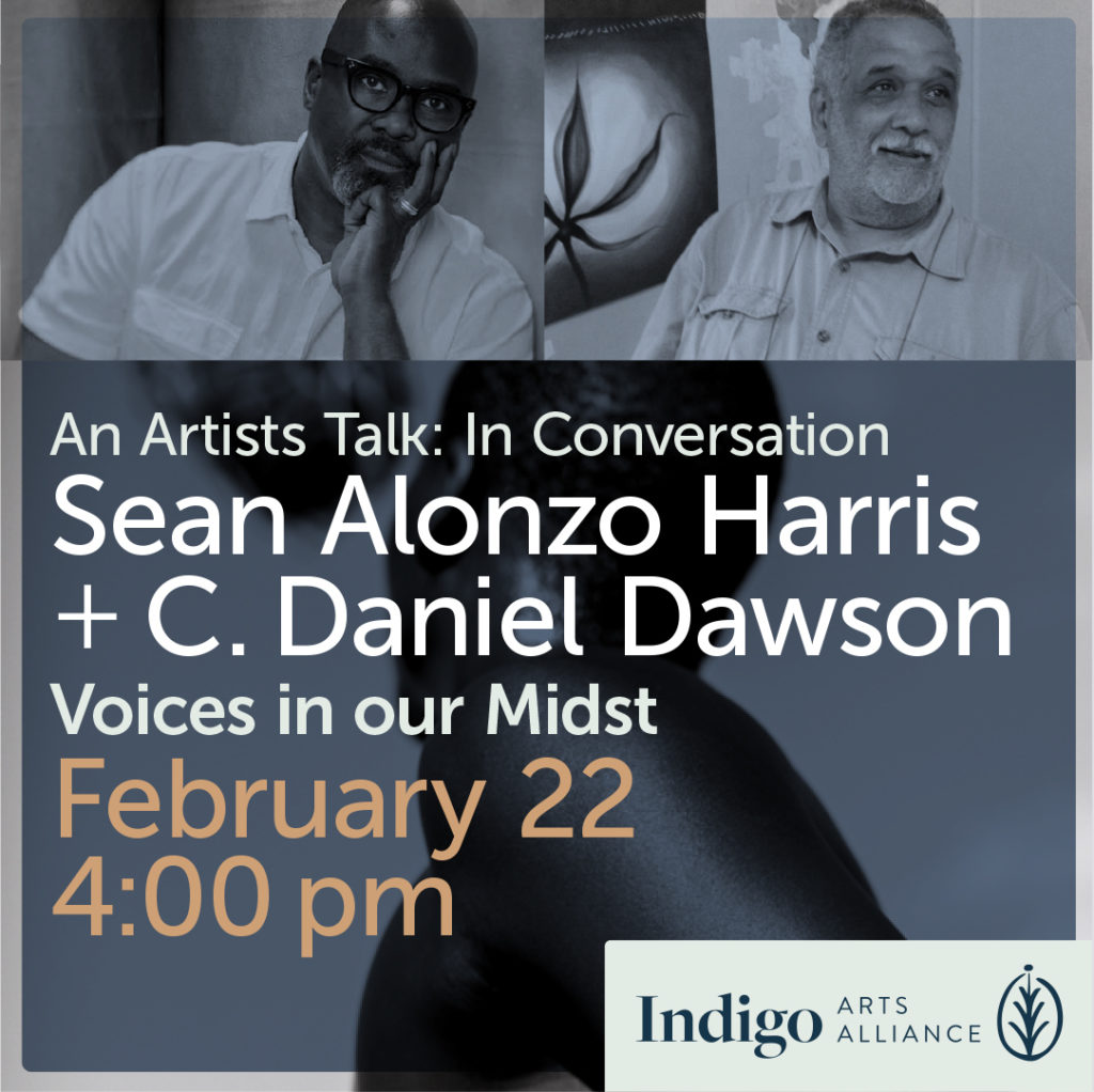 Artists Talk. Photographer. Sean Alonzo Harris in Conversation with C. Danny Dawson, Topic: Voices in Our Midst.