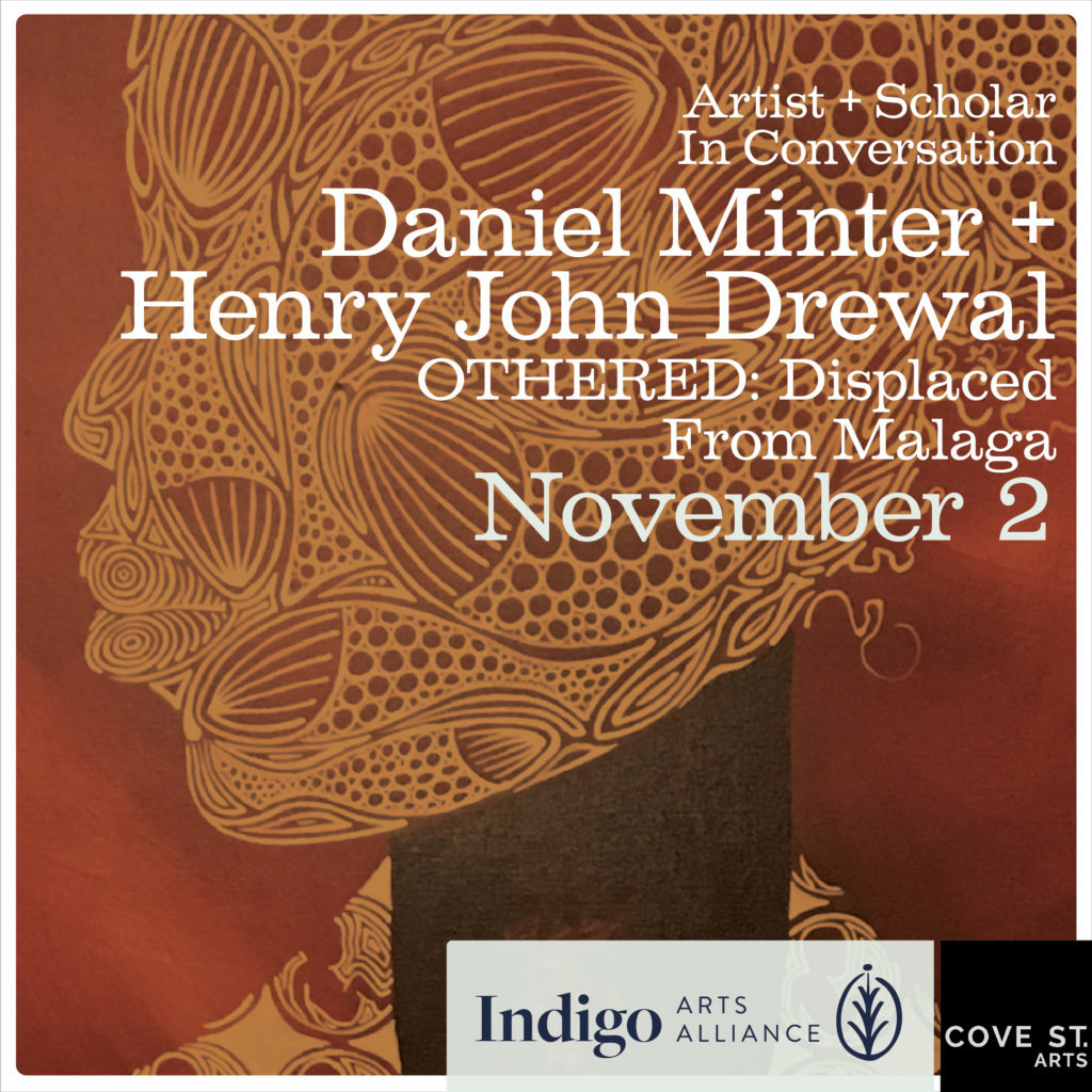 Artist + Scholar Lecture, Daniel Minter and Henry John Drewal in Conversation, Othered: Displaced from Malaga