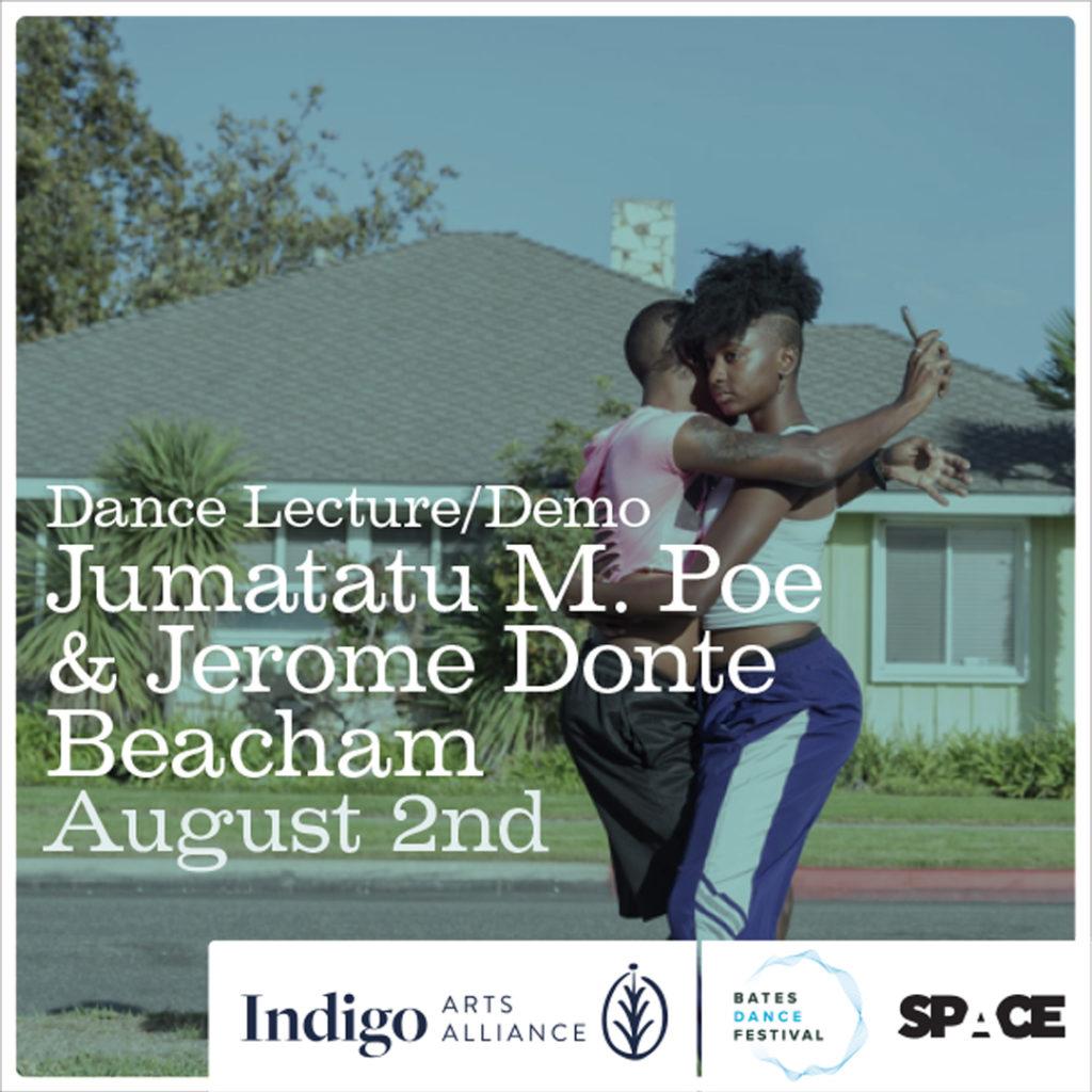 Dance Lecture/Demo with Jumatatu M. Poe & Jerome Donte