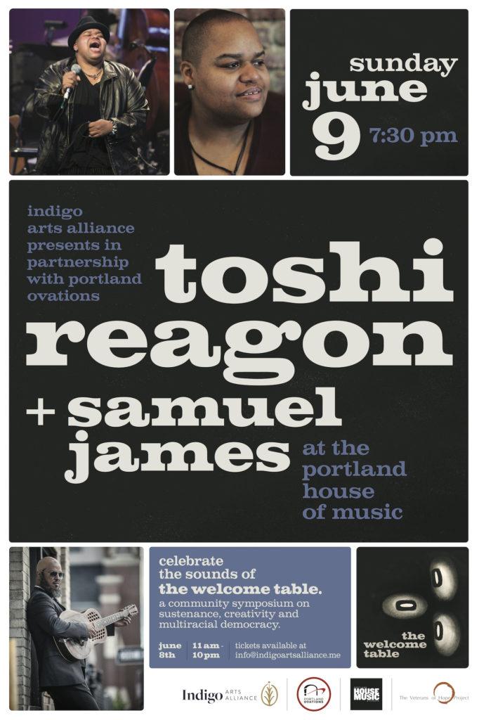 Toshi Reagon + Samuel James
