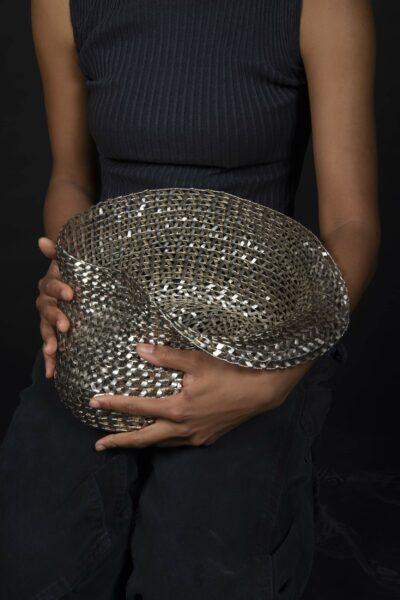 Examples of Aminata Conteh's metalworking