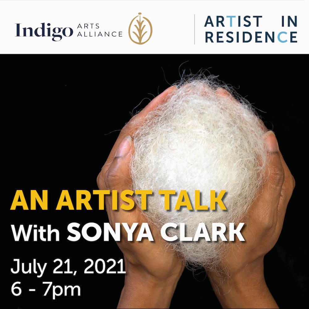 An Artist Talk with Sonya Clark